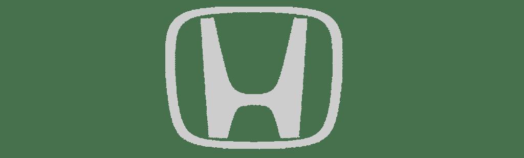 honda logotipas pilkas